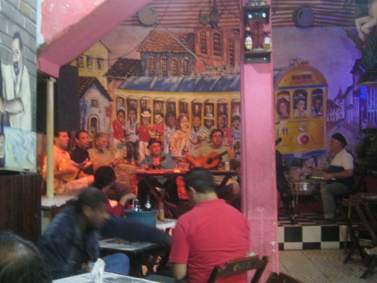 Bars in Rio are full of activity all year round