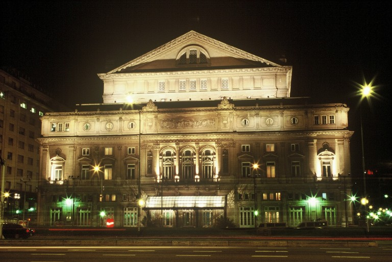 Teatro Colon - the main opera house of Buenos Aires