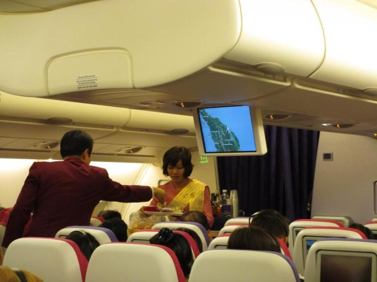 Thai cabin crew is often stressed and disorganised