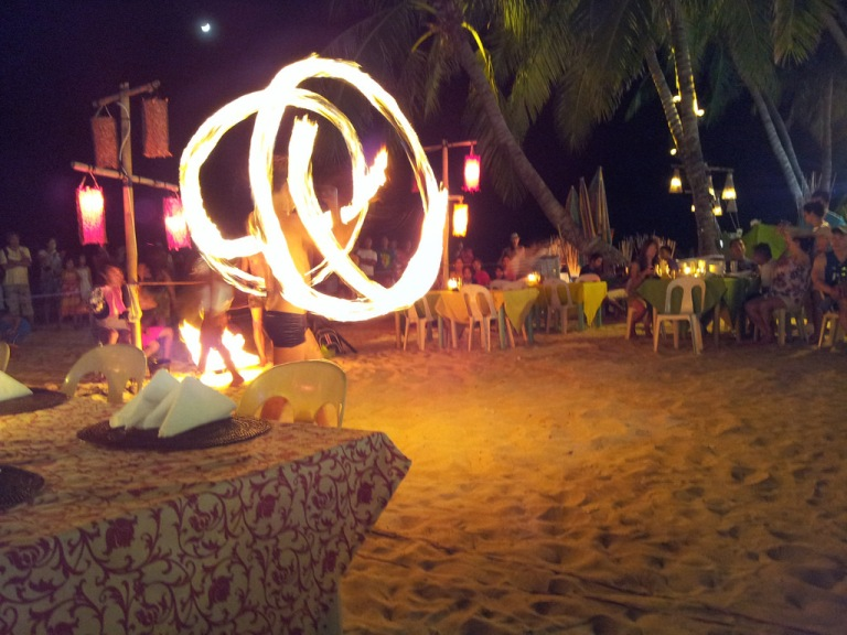 Boracay is a great place to party the night away