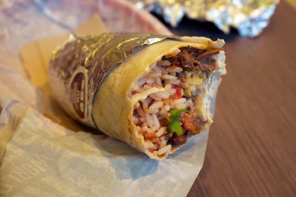 Burrito - my favourite wrap