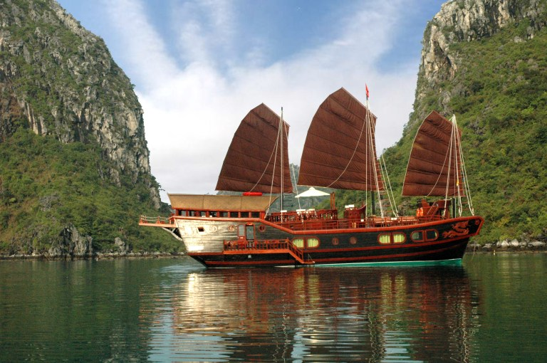 Now you're at Halong Bay, it's time for that epic cruise you were waiting for!