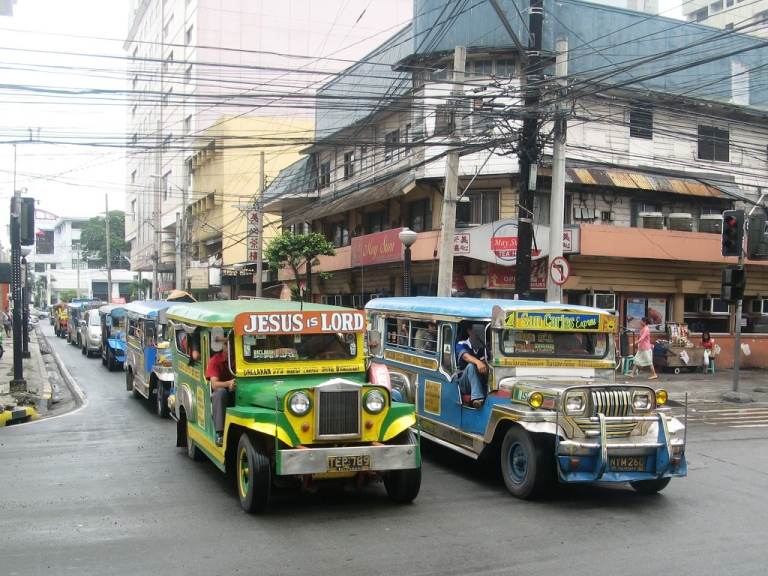 Jeepneys in Cebu