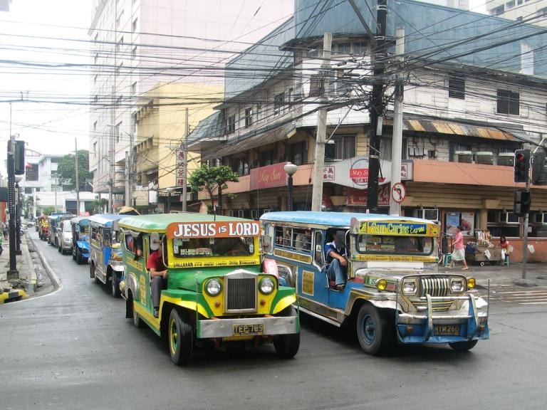 Jeepneys in Cebu
