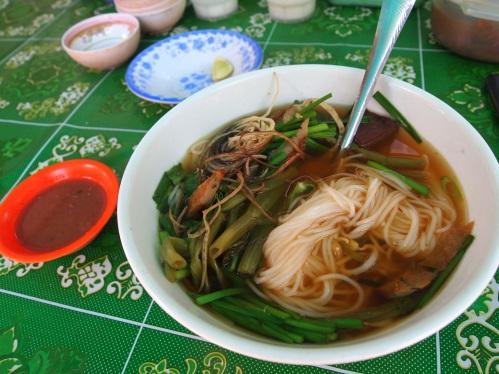 Nom Banh Chok (Khmer Noodles)