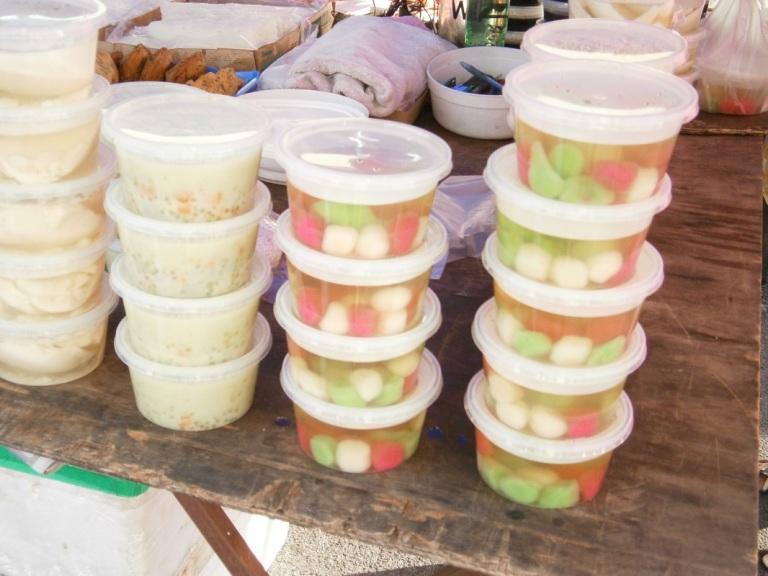 Bubur Cha Cha is even sold as street food alongside desserts like tofu