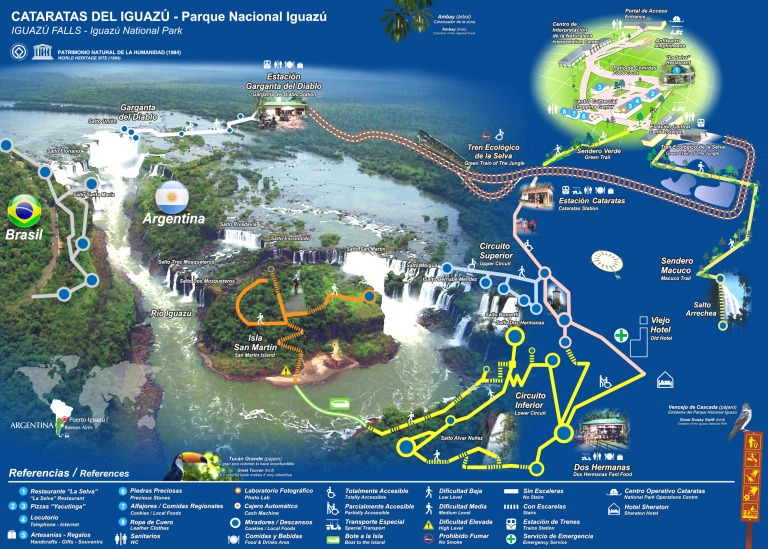 Official 2015 Park Map (click to enlarge)