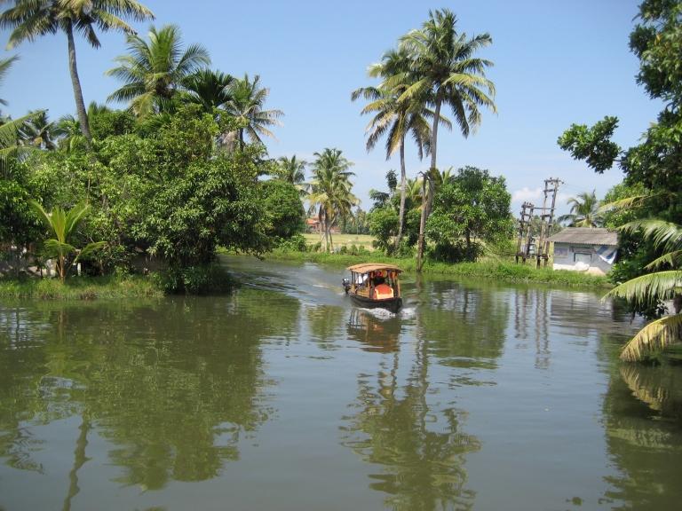 Kumarakom - Tropical India!