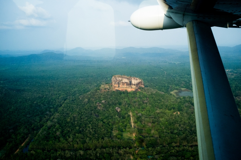 Sigiriya by Cinnamon Air (Photo: Yamu.lk)