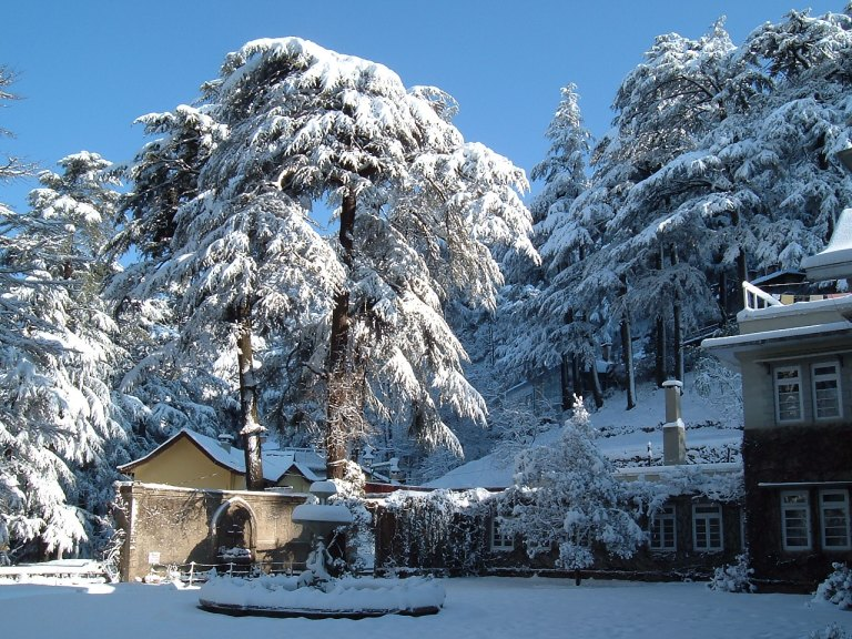 Shimla - it really does snow in India!