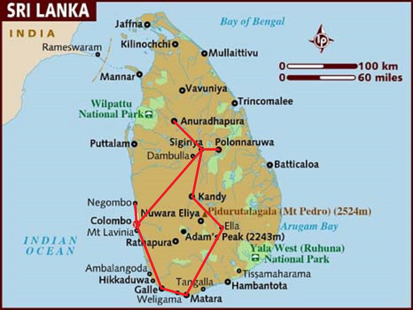 What is the best way to get to Sigiriya backpackerlee