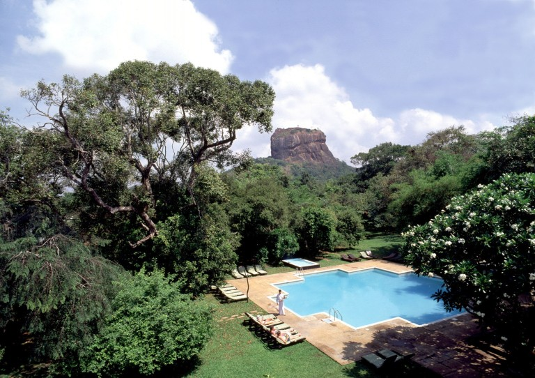 The view from Sigiriya Village Hotel