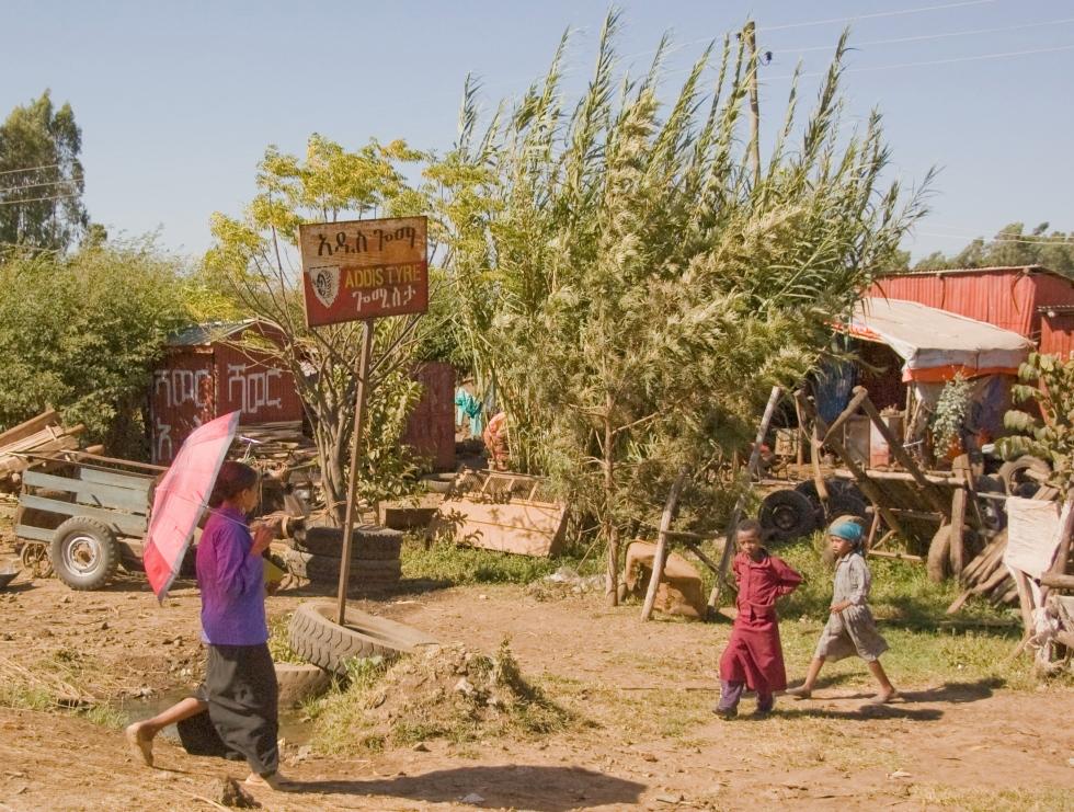Rural life in Bahir Dar
