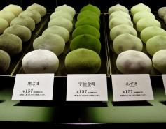 Green tea flavoured Mochi