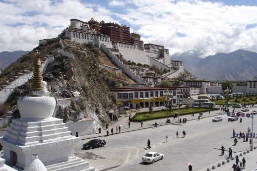 The home of the Dalai Lama