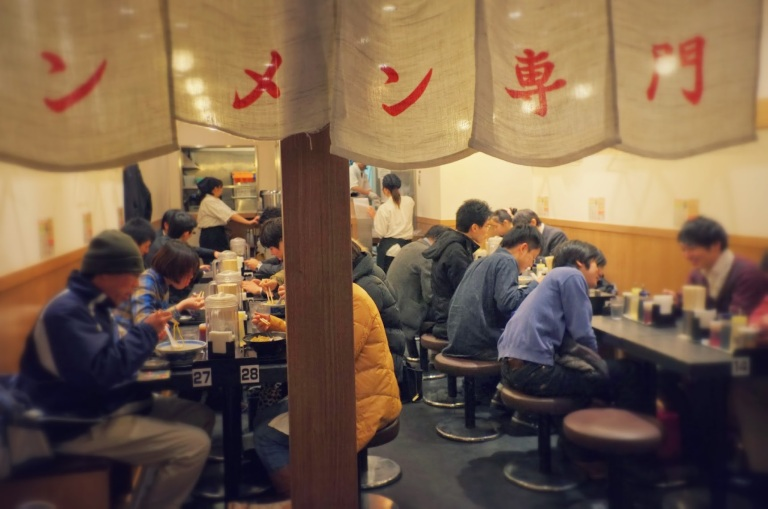 Now you can eat among the locals with nobody laughing at you!