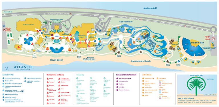 Map of the resort (click to enlarge)