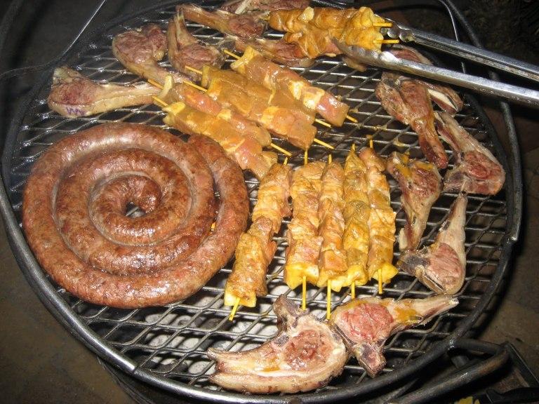 Braai in Johannesburg - it's a total meat market!