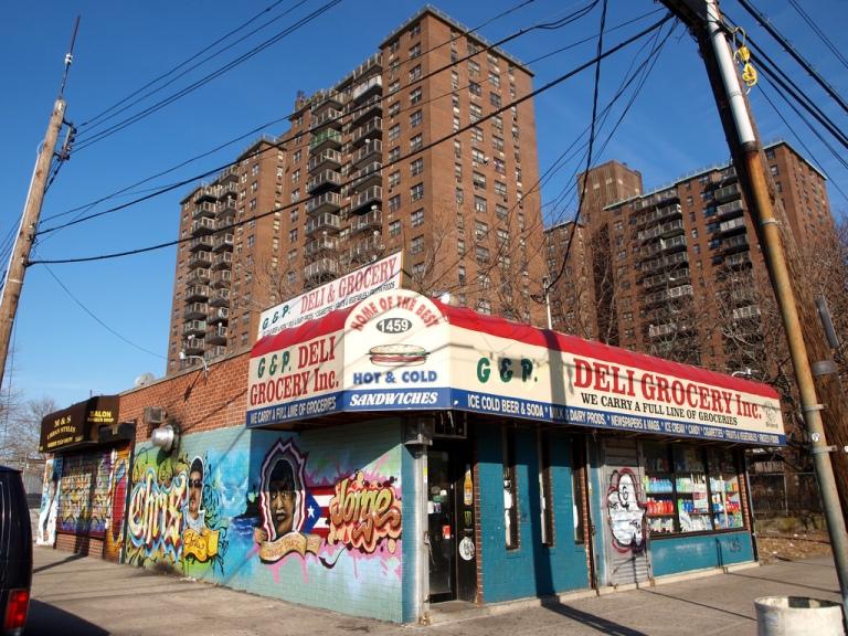 Deli in the Bronx