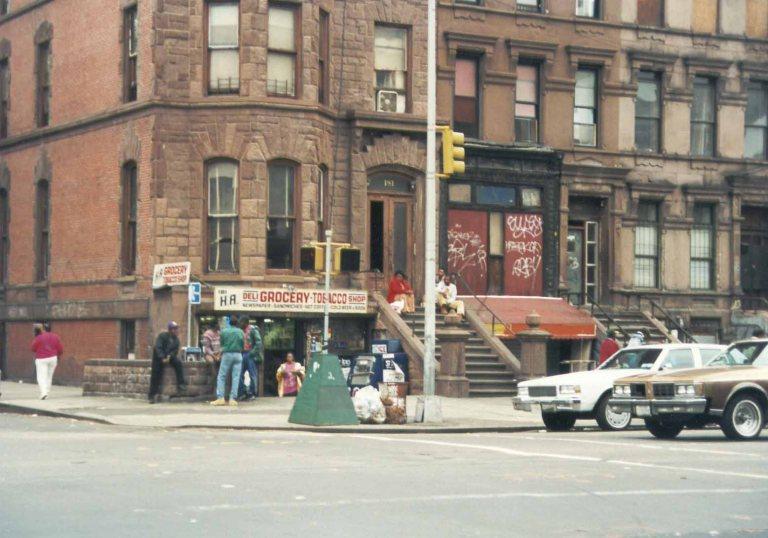 Street life in Harlem