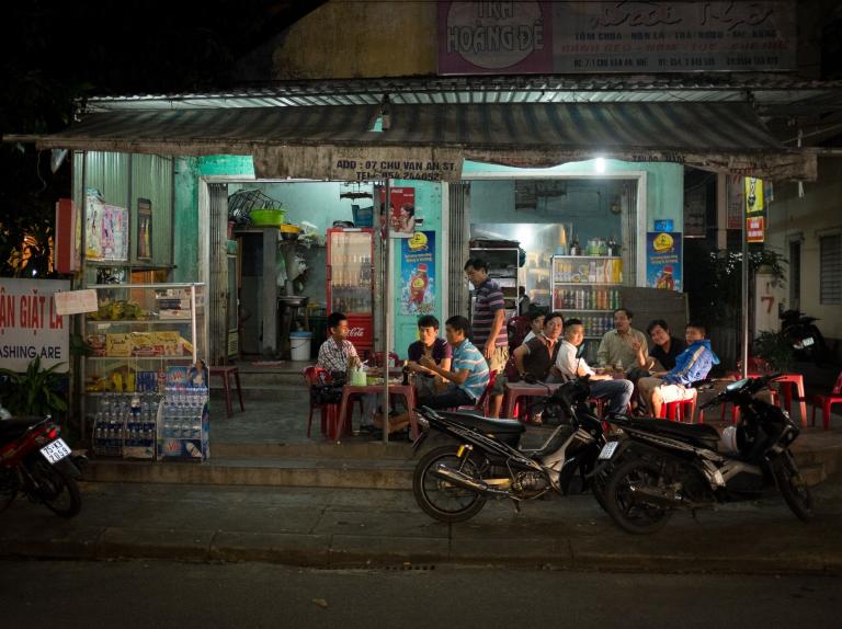 The Evening Scene in Hue