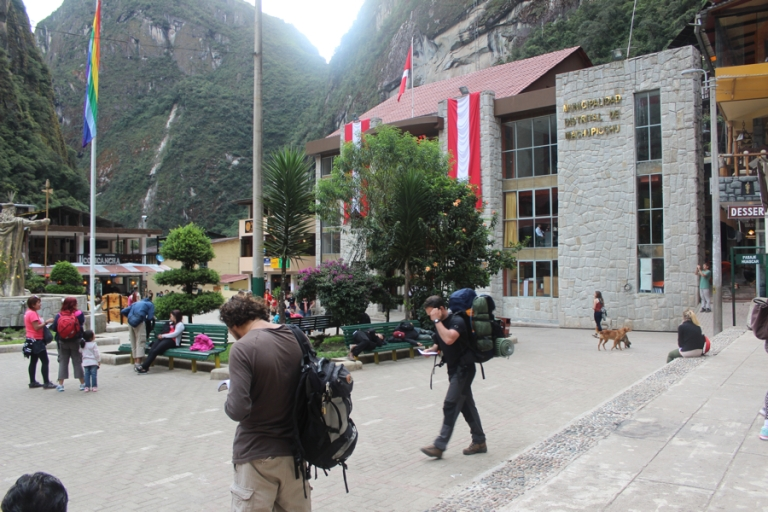 Aguas Calientes is where you buy your Machu Picchu tickets