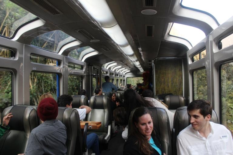 VistaDome class seats