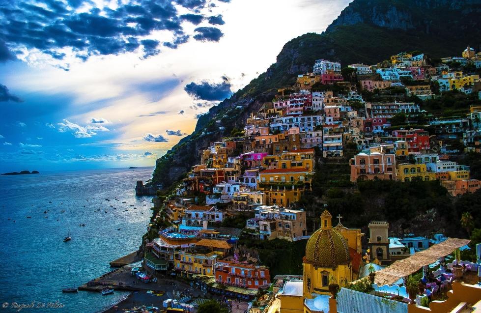 The small village of Positano