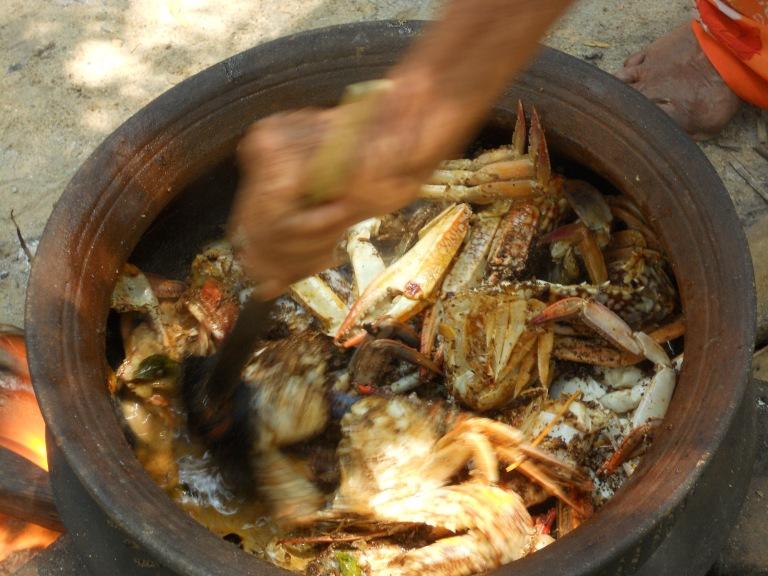 Sri Lankan Crab Curry