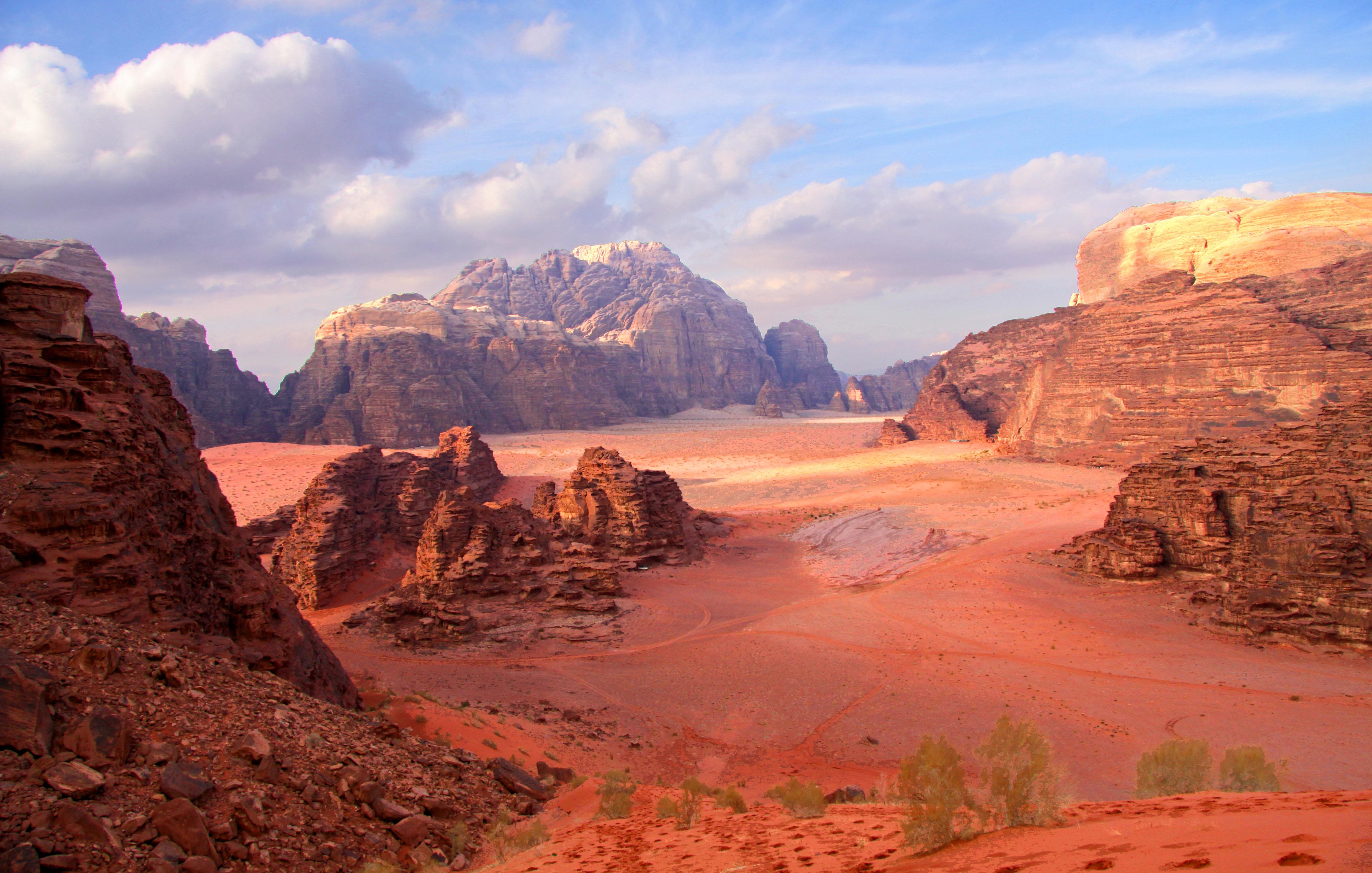 Wadi Rum: Life on Mars