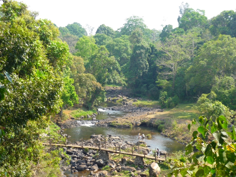 The Bolaven Plateau in the south of Laos