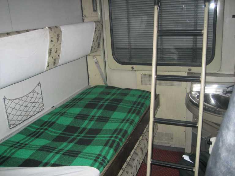 A second class sleeper cabin