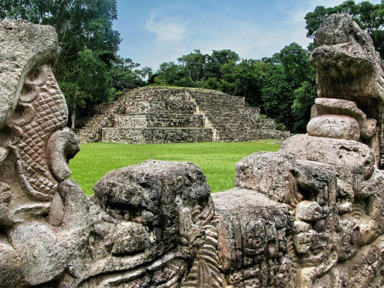 Copan Ruins in Honduras