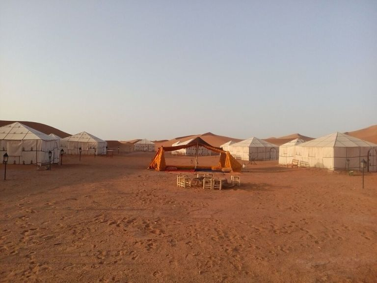 Bedouin tents await you