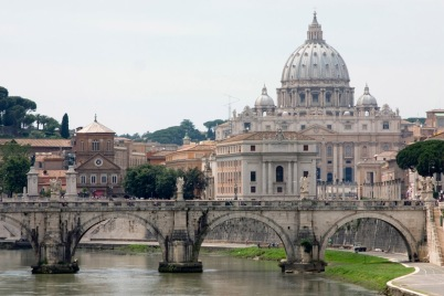 St Peter's Basilica in the Vatican