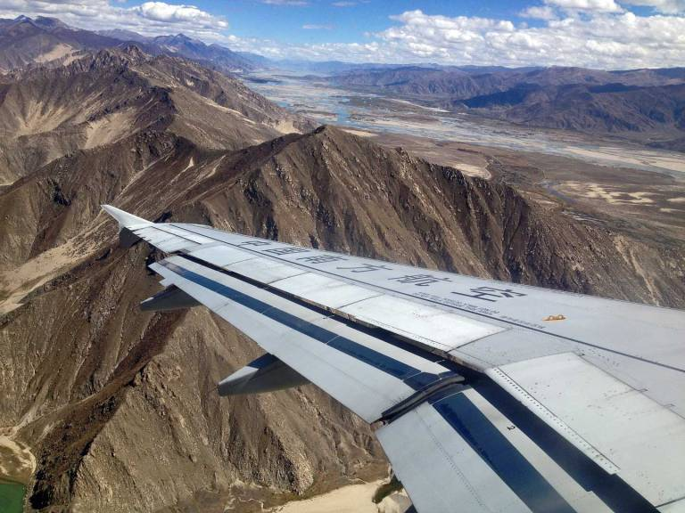 Tibet seems like an enchanting place - even before you've landed!