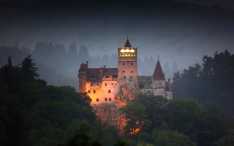 Bran Castle: the home of Dracula