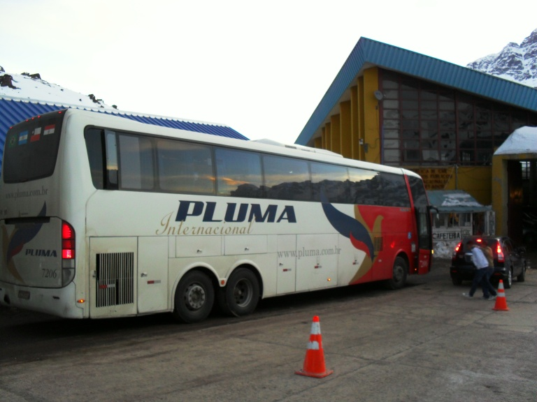 Long distance bus companies, like Pluma, are your best bet