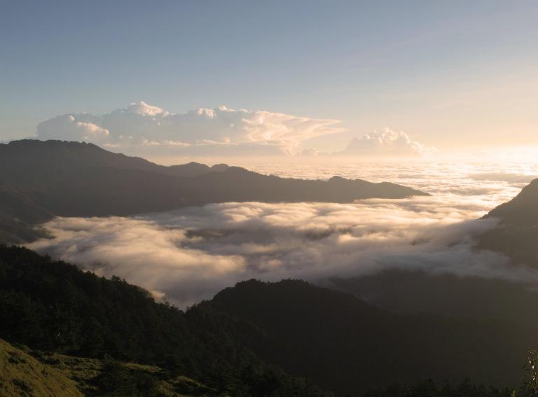 Hehuanshan Mountain range