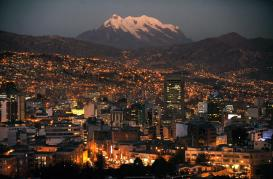 Bolivia's La Paz is one of the highest cities in the world
