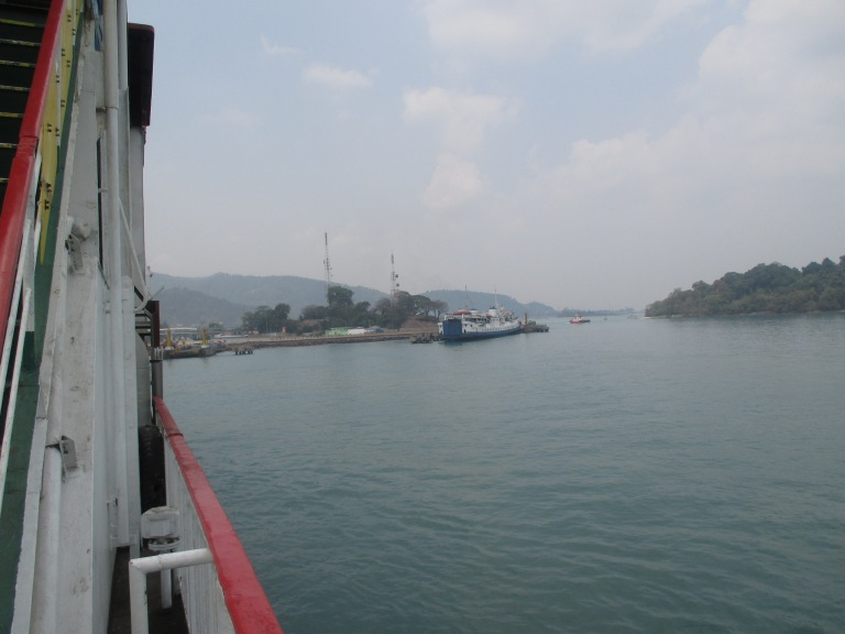 Onboard the ferry from Bakauhueni to Merak
