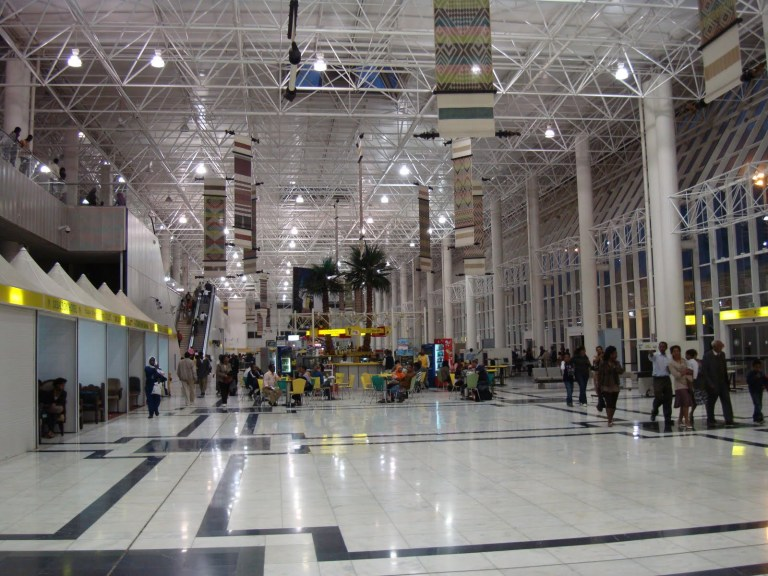 Bole Airport is one of the nicer airports in Africa