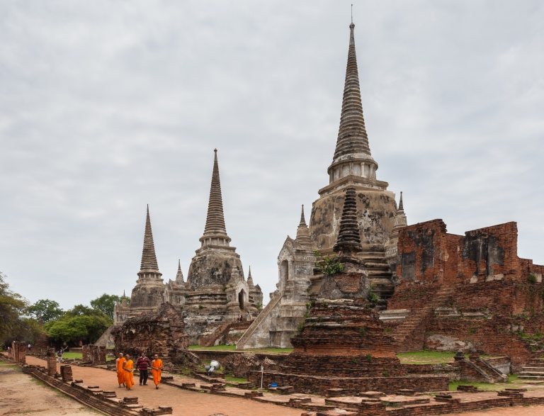 Ayutthaya is incredible, and is on par with Angkor and Bagan