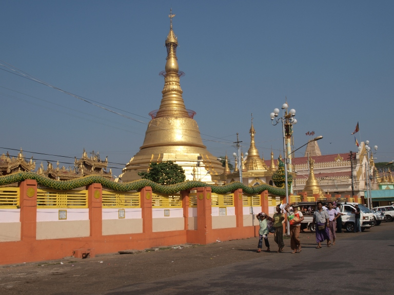 Botahtaung is by the Yangon River