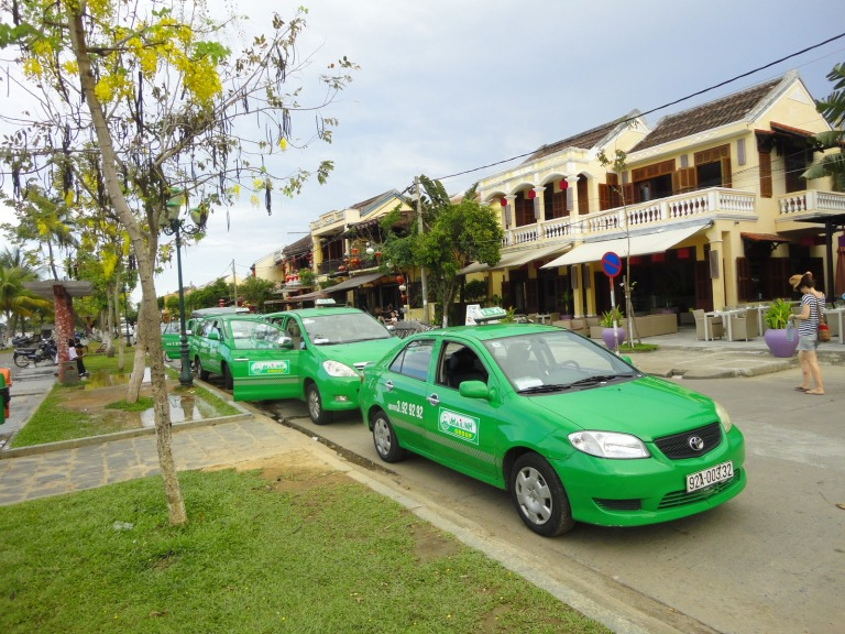 A taxi in Danang