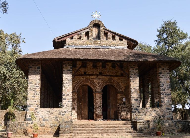 Debre Berhan Selassie Chuch in Gondar