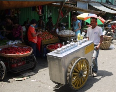 Sorbetes ice cream being sold on the streets of Manila