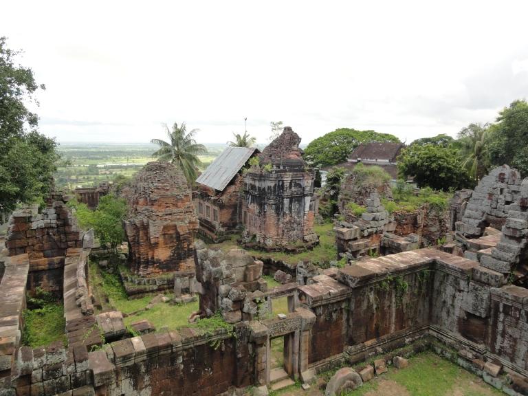 The ruins of Phnom Chisor