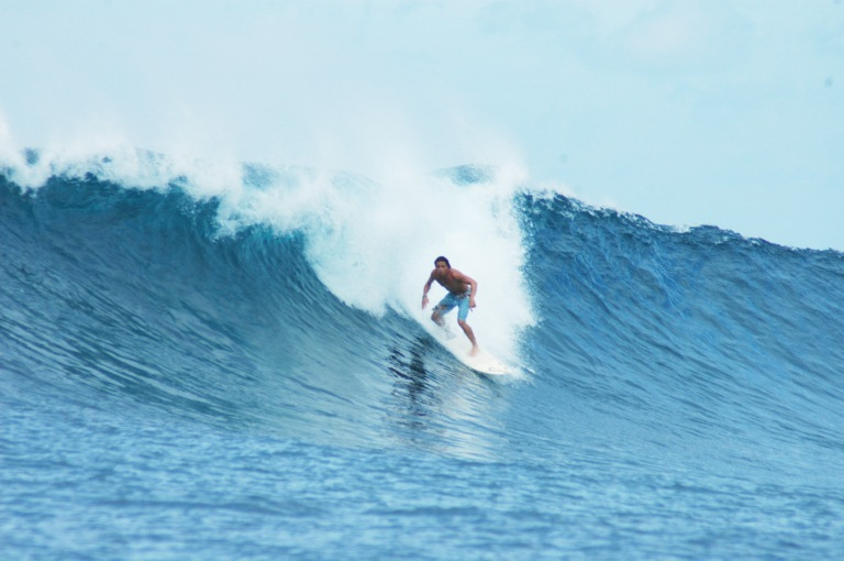 Surf's up at Siargao!