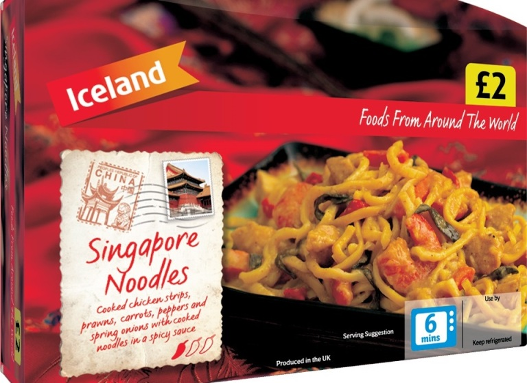 What people think Singaporeans eat...